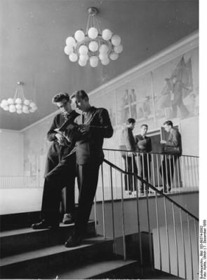 Gerhart-Potthoff-Bau TU-Dresden 1959, Bundesarchiv, Foto: Kohls, Ulrich